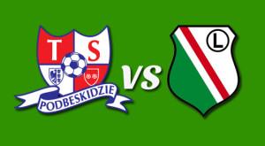 TS Podbeskidzie kontra Legia Warszwa