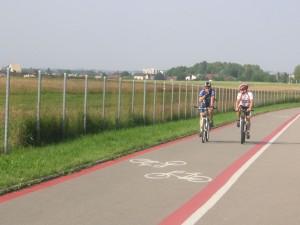Ścieżka rowerowa Lotnisko Bielsko-Biała