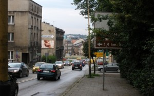 Ulica Krakowska - Remont