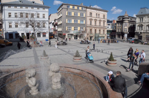 Plac Chrobrego w Bielsku-Białej